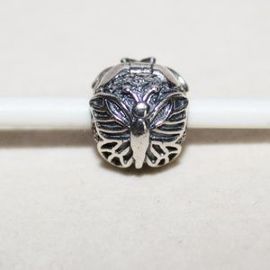 "Pandora ""Lacewing Butterfly"" Bracelet Clip RETIRED"